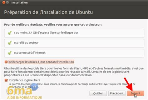 L Installation On Ubuntu by Installation De Ubuntu 10 10 1 2