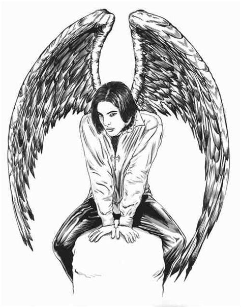 coloring pages dark angel free coloring pages of anime dark angel girl