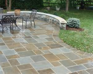 full color bluestone patio outdoor patios pinterest