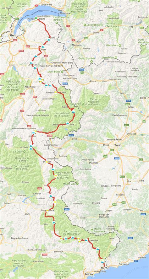 Motorradtouren Frankreich Karten by Route Des Grandes Alpes Tour F 252 R Motorrad Und Auto
