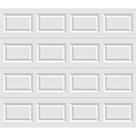 clopay value series 8 ft x 7 ft non insulated garage door
