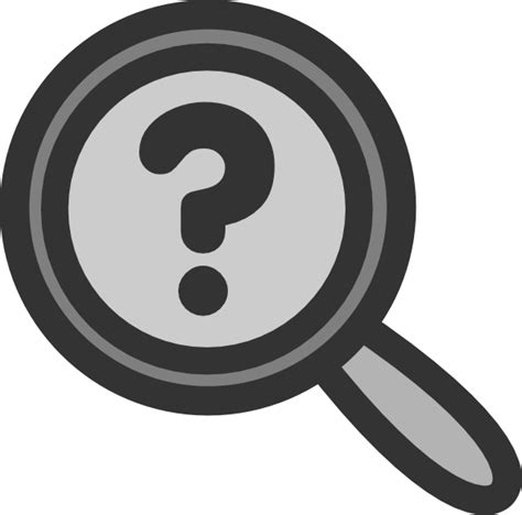 search clipart search question clip at clker vector clip