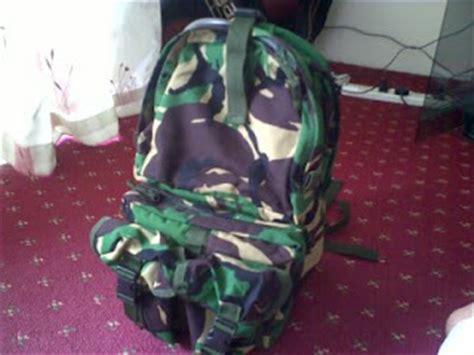 Ransel Loreng Jatah Tniwaterpeck Tas Air Tni perlengkapan militer termurah jual aneka barang