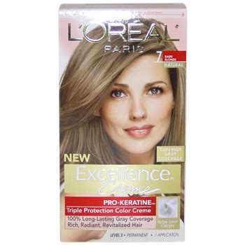 l oreal excellence creme pro keratine protection color 6rb light reddish brown ebay l oreal excellence creme pro keratine 7 hair color the