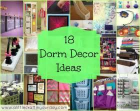Dorm Ideas 18 Dorm Decor Ideas A Little Craft In Your Day