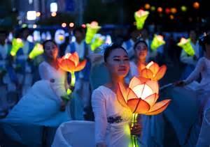 Seoul Lotus Lantern Festival Information Lotus And Tulip Festival In Seoul Best