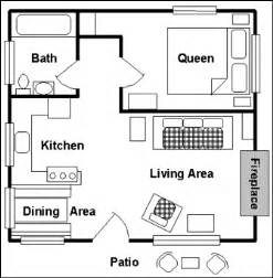 One Bedroom Cabin Plans Gallery For Gt One Bedroom Cottage