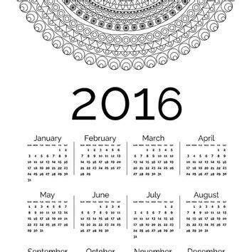 printable calendar 2016 a3 printable year calendar calendar template 2016