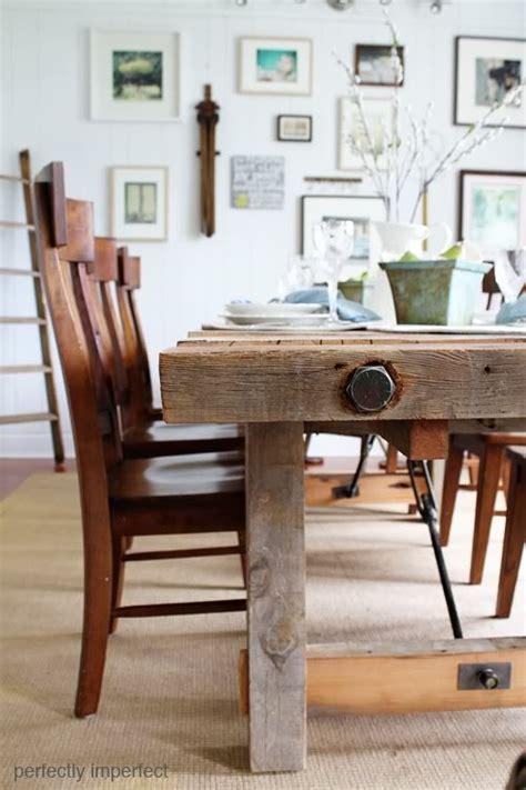 diy pottery barn table dining room
