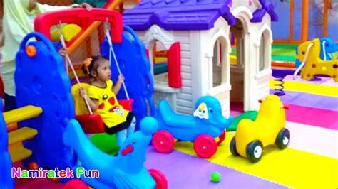 Mainan Anak Pikachu Go pikachu go bermain mainan anak naik odong odong