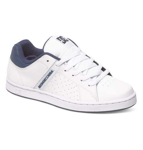 Dc Mens Wage Shoes White Navy 9 5d s wage shoes 888327437460 dc shoes
