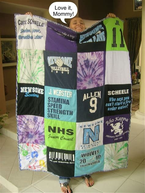 Directions For T Shirt Quilt by Best Tshirt Quilt Diy Projects