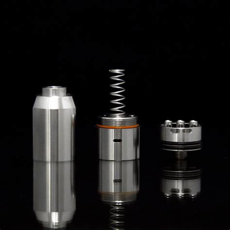 Authentic Aeolus V2 Lite 22mm Gold Rda By Syntheticloud T0310 1 authentic quot the big dripper quot rdta v2 0 by sub ohm innovations advanced vapors 808 llc