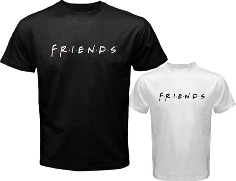 Friends T Shirts New Friends 90 S Tv Show S White Black T Shirt