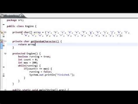 random con imagenes en java speed programming random string generator java youtube