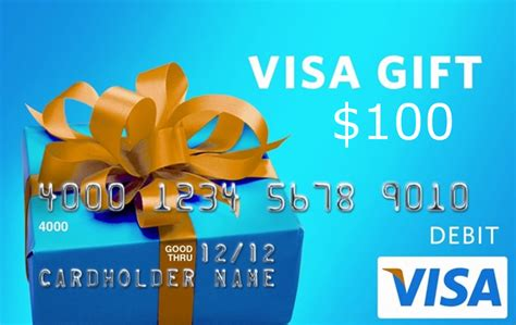 Can You Use A Visa Gift Card At An Atm - win a 100 visa gift card night helper