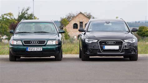 Audi A6 G4 by Totalcar Tesztek 214 Sszehasonl 237 T 243 Teszt Audi A6 1996 Vs