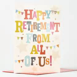 retirement card from us all only 99p
