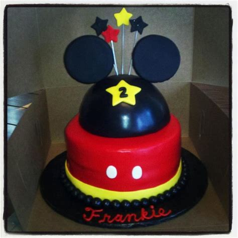 Mickey Mouse Cake Decorations by You To See Mickey Mouse Cake By Sumer