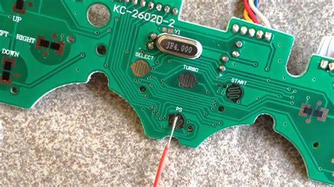 Pcb Original Stik Ps3 Om arcade stick pcb modding soldering wiring
