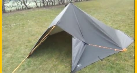 How To Build A Tarp Shed by Five Types Of Shelter Using A 3x3 Tarp Construct