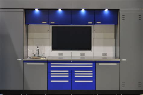 Garage Cabinets White Melamine 5 Smart Garage Cabinet Ideas That Make It Easy To Stay
