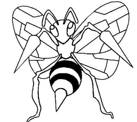 pokemon coloring pages beedrill coloring pages pokemon beedrill drawings pokemon