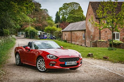 fiat roadster 2017 fiat 124 spider review the roadster