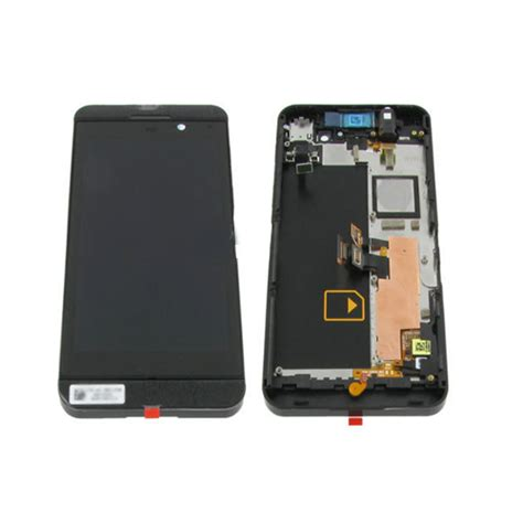 Sparepart Z10 lcd display panel touch screen digitizer with frame part