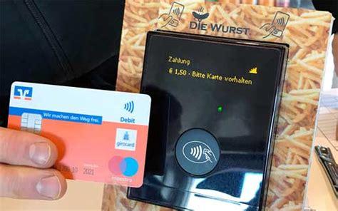 vr bank pi dk pilotprojekt mit der vr bank kontaktlos terminal ohne