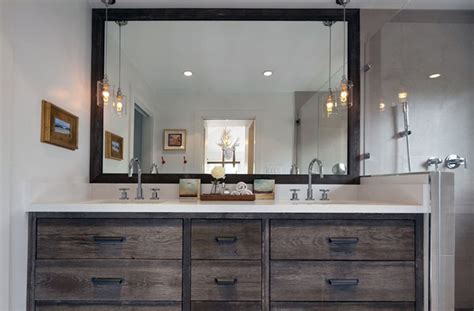 large mirrors for bathroom vanity 30 exles of the perfect reclaimed wood vanity