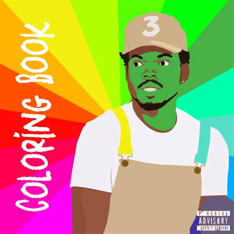 coloring book chance the rapper reddit chance the rapper coloring book 1500x1500 freshalbumart