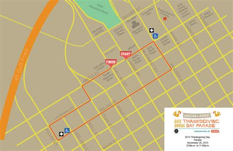 route of new year parade 2016 thanksgiving day parade dallas tx 2017