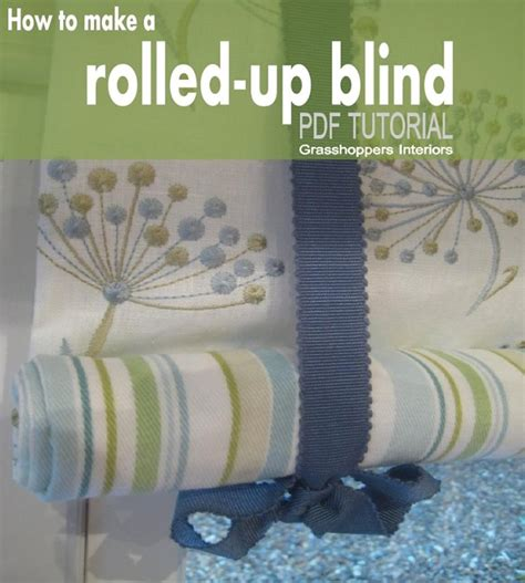how to make a shade how to make your own stylish kitchen blinds with ease