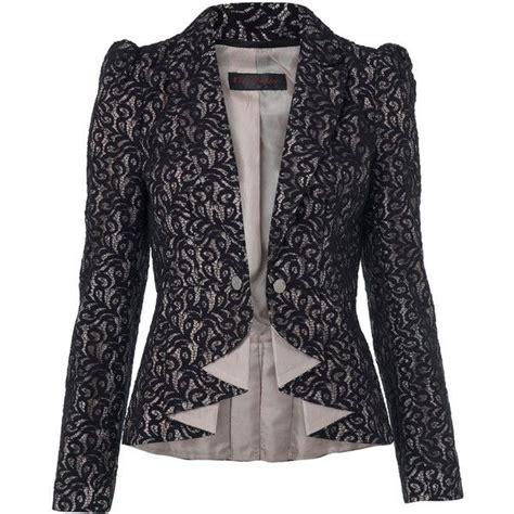 Lace Blazer black lace blazer fashion