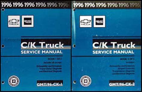 1996 ck 1500 3500 repair shop manual orig set pickup suburban tahoe yukon