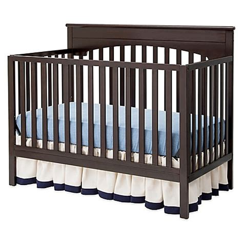 Delta Convertible Cribs Delta Layla 4 In 1 Convertible Crib In Chocolate Buybuy Baby