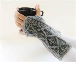 crochet dreamz adeline fingerless mitts or arm warmers