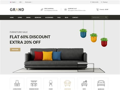 shopify themes furniture 15 best shopify themes for interior furniture store