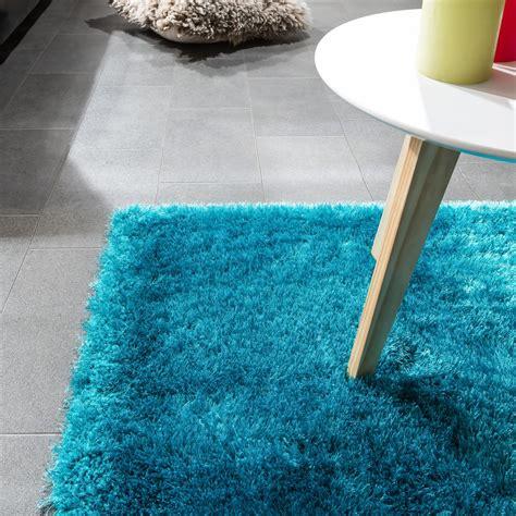 teppich weich edler teppich shaggy hochflor einfarbig flauschig gl 228 nzend