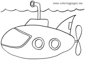 yellow submarine coloring pages az coloring pages - Submarine Coloring Pages