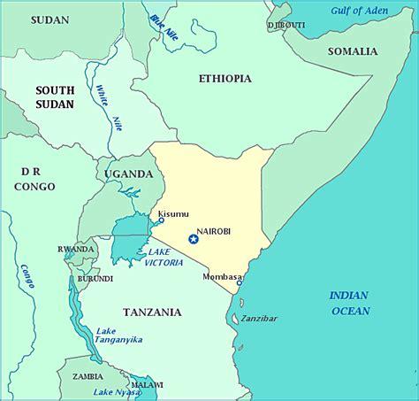 world map of kenya map of kenya republic of kenya maps mapsof net