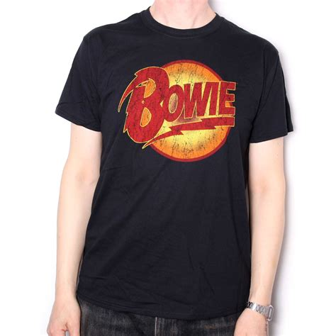 David Bowie Sliced Image T Shirt Size L Kaosband Import Official Merch david bowie t shirt dogs logo 100 official