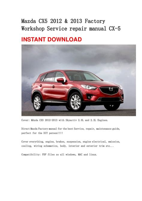 service manual 2012 mazda mazda5 free manual download mazda cx 5 cx5 ke series 2012 2014