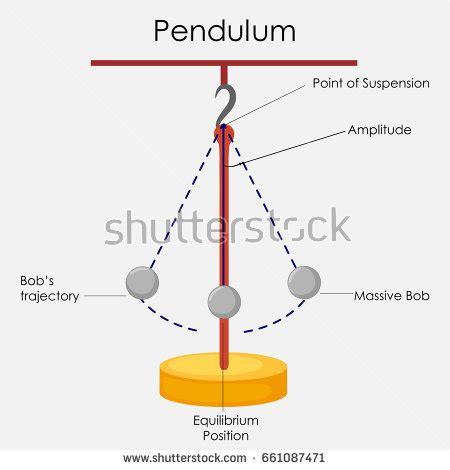 swinging pendulum physics pendulum stock images royalty free images vectors