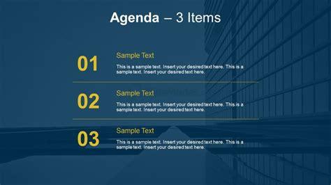 3 Point Meeting Agenda Slides Slidemodel Meeting Agenda Template Ppt