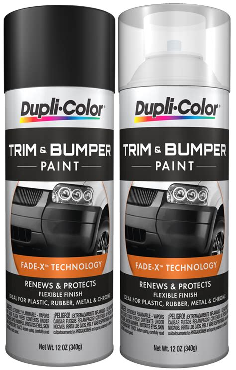 dupli color trim bumper spray 12 oz duptb10x series