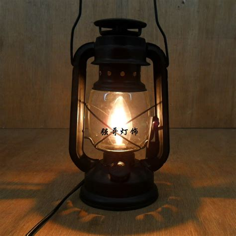 Fashion Vintage Wrought Iron Lantern Brief Rustic Bedroom Lantern Lights For Bedroom