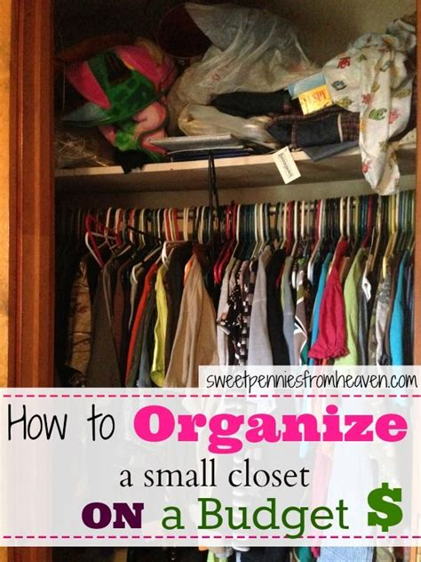 Inexpensive Ways To Organize A Closet by 17 Best Images About Tiny Apt Tinier Closet On
