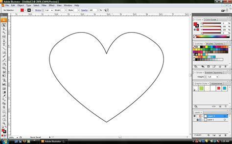 adobe illustrator tutorial zeichnen wie ein herz zeichnen in adobe illustrator amdtown com